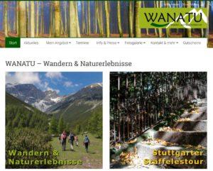 Neue Homepage WANATU